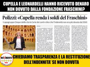 Fraschini : soldi non dovuti a Cupella e Leonardelli?